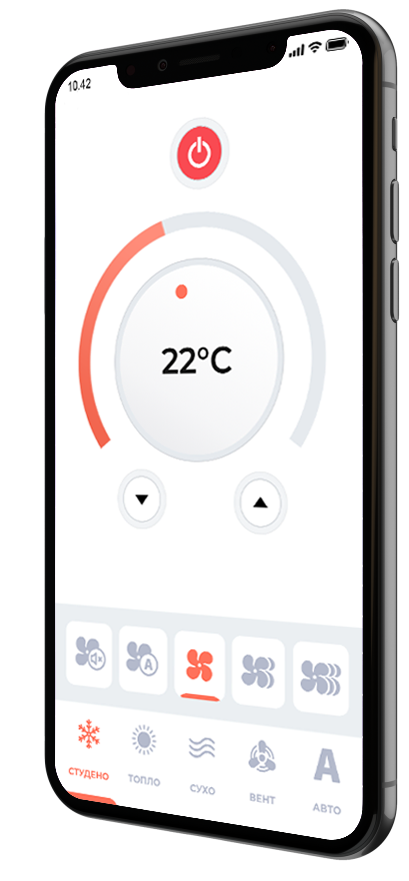 Интелигентно Wi-Fi управление за климатици iCON