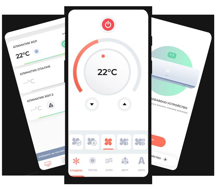 Интелигентно Wi-Fi управление за климатици